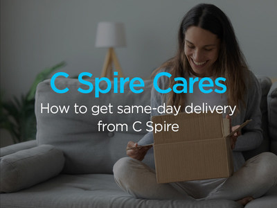 C Spire is offering free same-day service at select retail stores in 11 Mississippi markets to ensure customer safety during the COVID-19 outbreak