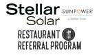 Stellar Solar Launches Restaurant Referral Program