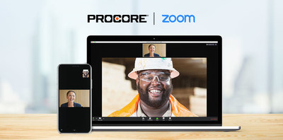 Procore's integration with Zoom ensures construction teams can stay better connected and aligned while working remotely.