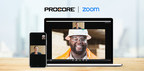 Procore Launches Zoom Video Communications Integration to Enhance Construction Collaboration