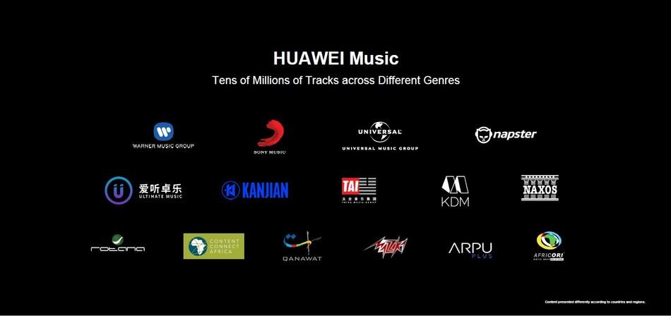 HUAWEI Music (PRNewsfoto/Huawei Consumer Business Group)