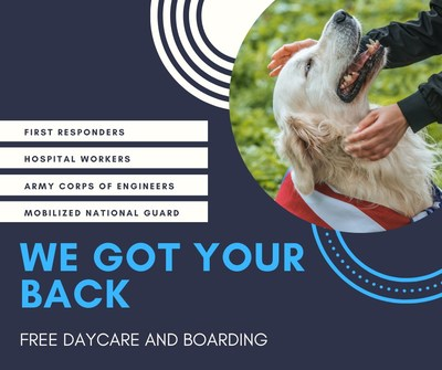 Destination Pet offering free pet boarding and daycare to first responders during COVID-19 crisis