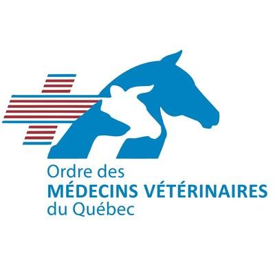 Logo : Ordre des médecins vétérinaires du Québec (Groupe CNW/Ordre des médecins vétérinaires du Québec)