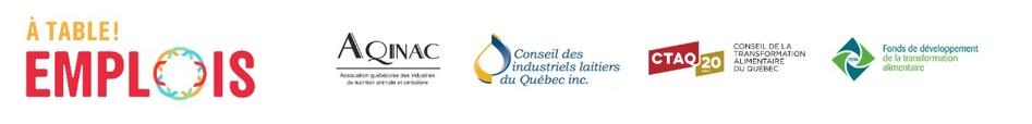 Partenaires de l'initiative (Groupe CNW/À table! Emplois)