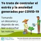 Apoyo bilingüe de la Alianza Nacional para la Salud de los Hispanos para familias durante COVID-19