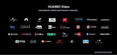 HUAWEI Video (PRNewsfoto/Huawei Consumer Business Group)