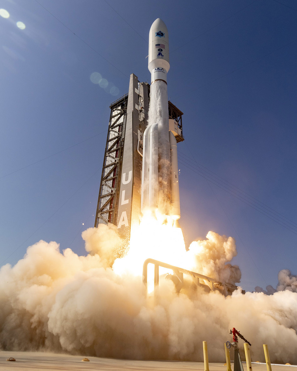 (Cape Canaveral Air Force Station, Fla., March 26, 2020) A ULA Atlas V rocket carrying AEHF-6, the first National Security Space mission for the U.S. Space Force, lifts off from Space Launch Complex-41 at 4:18 p.m. EDT. Photos by United Launch Alliance