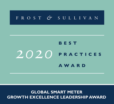 Iskraemeco Lauded by Frost & Sullivan for Expanding Rapidly in the Global Market by Employing solid multi-tiered Growth Strategies
