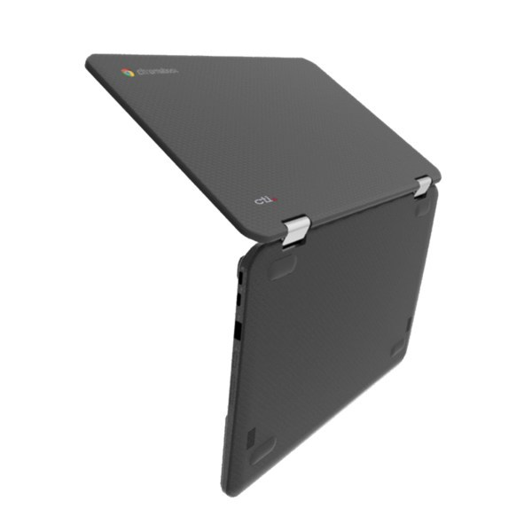 CTL Chromebook VX11has a 180-degree hinge allowing it to lay flat