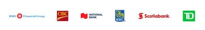 BMO Financial Group; CIBC; National Bank of Canada; RBC; Scotiabank; TD Bank Group (CNW Group/Canadian Bankers Association)