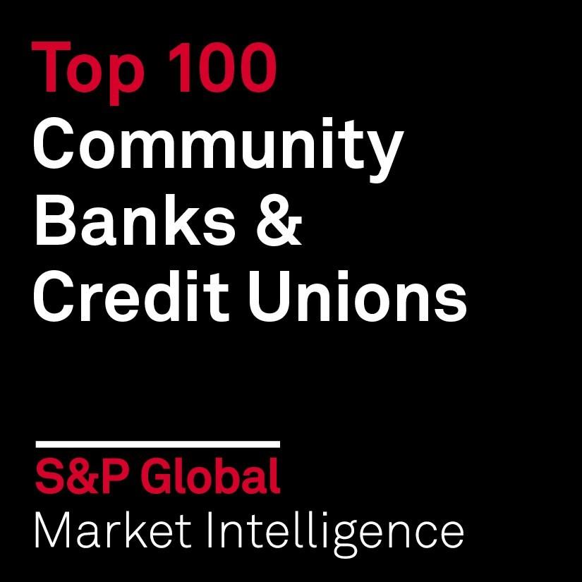 S&P Global Top 100 Community Banks & Credit Unions
