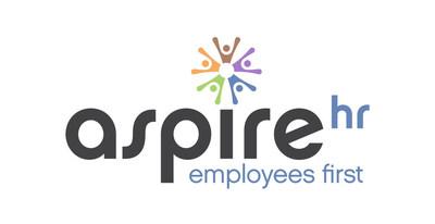 New logo announced for AspireHR. (PRNewsfoto/AspireHR, Inc.)