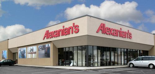 Alexanian store front (CNW Group/Alexanian Carpet & Flooring)