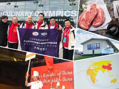 China's National Culinary Team Makes a Great Show in the IKA/Culinary Olympics