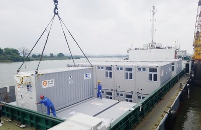 CIMC Modular Building Systems set up temporary quarantine facilities for HK