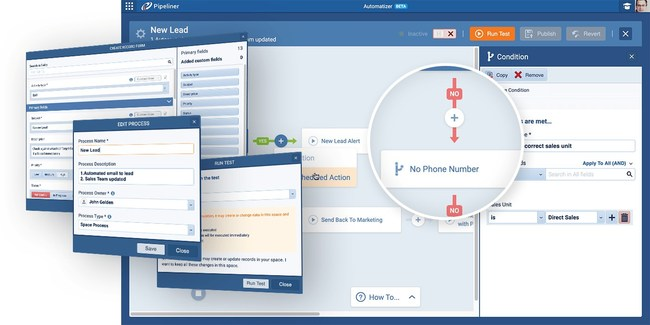 The Pipeliner CRM Automatizer