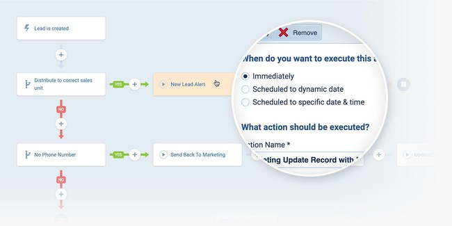 Automate routine and manual processes