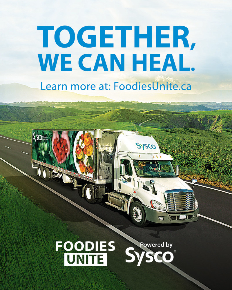 Sysco Canada launches Foodies Unite, to help heal the food industry during this difficult time (CNW Group/Sysco Canada)