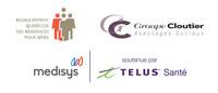 Un service de télémédecine est maintenant offert aux membres du RQRA pour leurs résidents et employés, grâce à un partenariat conclu entre Groupe Cloutier Avantages Sociaux et Medisys soutenue par Telus Santé. (Groupe CNW/Regroupement québécois des résidences pour aînés)