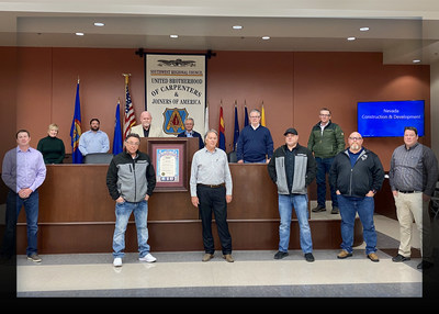 Governor Sisolak Asks Southwest Carpenters Union To Assemble Construction Industry Leaders Amid COVID-19 Pandemic