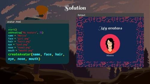 Screen shot from the CodeWizardsHQ Python Intro class