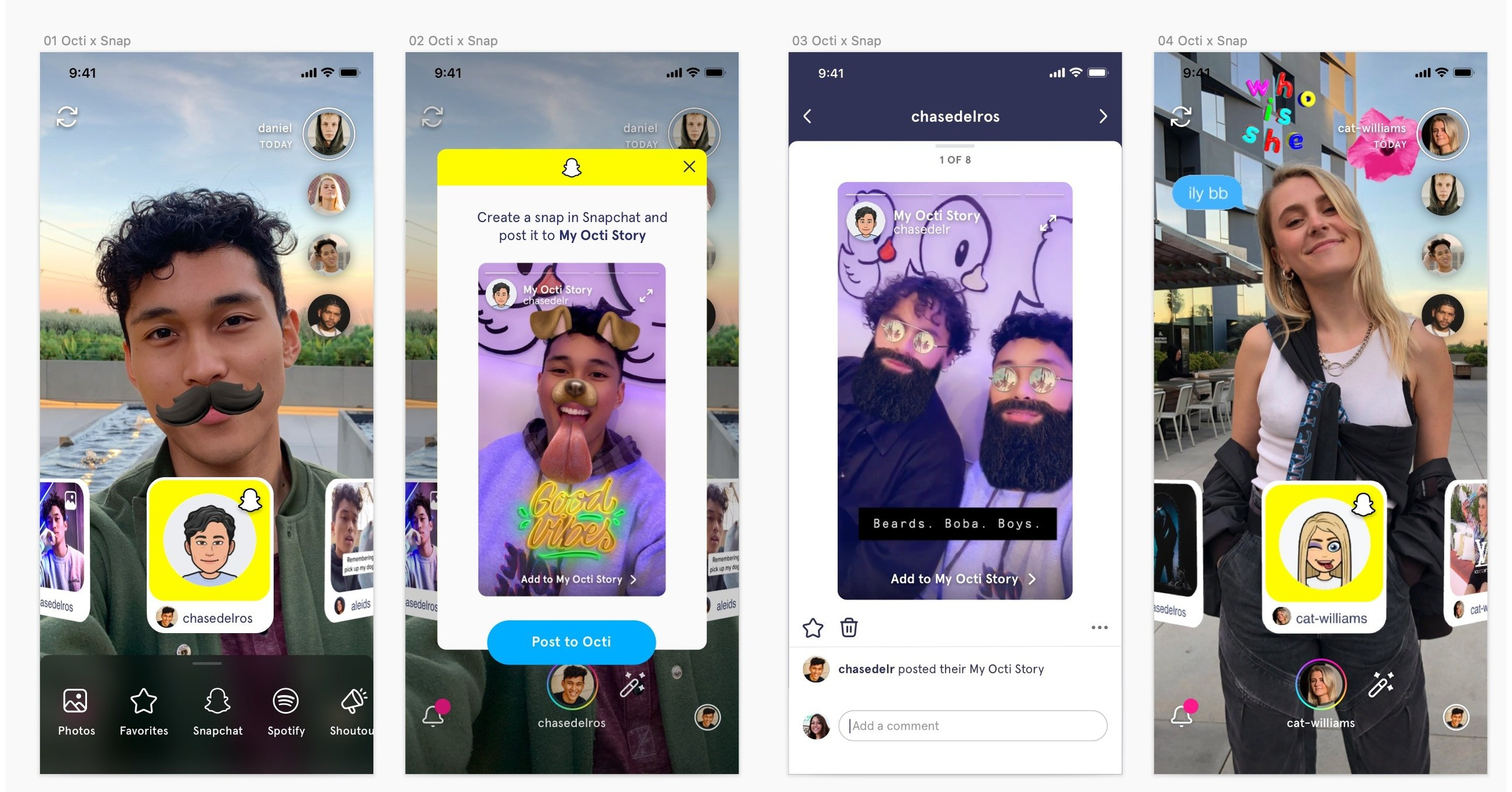 Octi Announces Integration With Snapchat to Bring App Stories Into Octi's  Social AR Platform