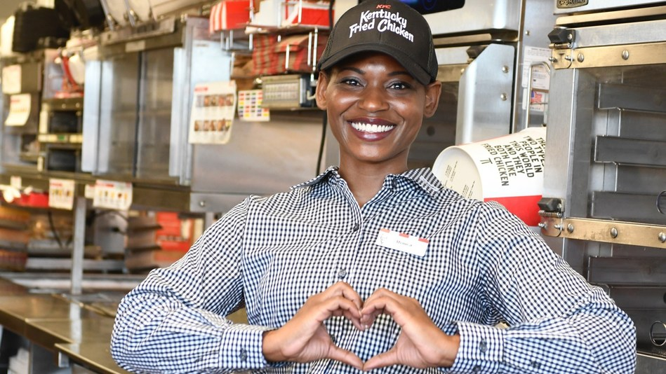 KFC team members at more than 4,000 restaurants across the country are stepping up and serving the chain's world-famous fried chicken to support local communities in need during the COVID-19 pandemic.
