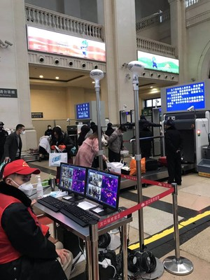 Guide Infrared provee sistemas de imágenes térmicas a las autoridades locales para evitar el resurgimiento de la enfermedad en Wuhan