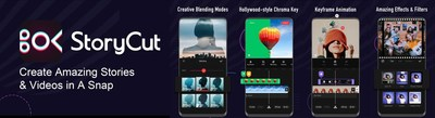 StoryCut empowers users to create beautiful videos on the go with a powerful video editing app.