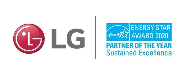 LG Electronics has been named 2020 ENERGY STAR® Partner of the Year by the U.S. Environmental Protection Agency (EPA). The Sustained Excellence award recognizes LG's continued leadership in protecting the environment through high-performing, energy efficient products loved by millions of consumers across the country.