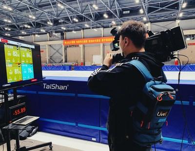 LiveU远程制作解决方案助力腾讯直播中国短道速滑赛事