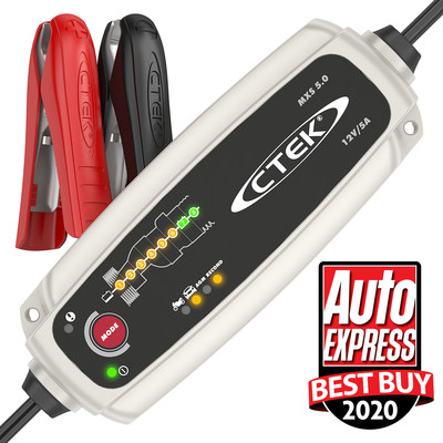 CTEK Crowned the Winner in 2020 Auto Express Battery Charger