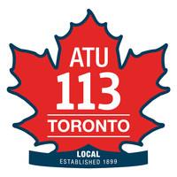 ATU Local 113 (CNW Group/Amalgamated Transit Union Local 113)