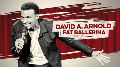 Veteran comic David A. Arnold showcases homespun humor in his new Netflix special, FAT BALLERINA.
