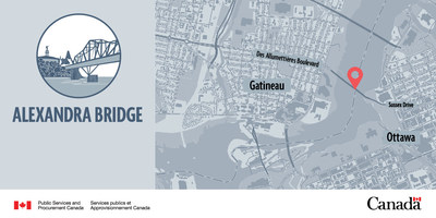 Alexandra Bridge (CNW Group/Public Services and Procurement Canada)