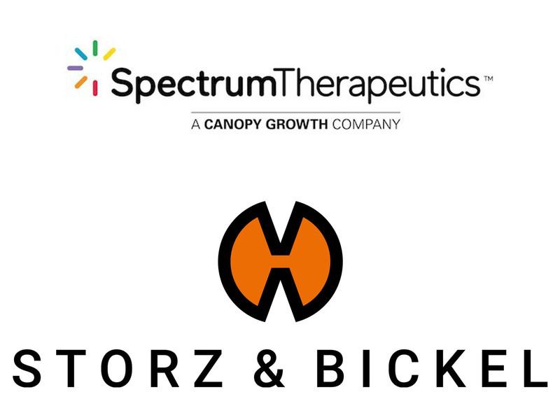 Logo : Spectrum Therapeutics et STORZ & BICKEL (Groupe CNW/Spectrum Therapeutics)