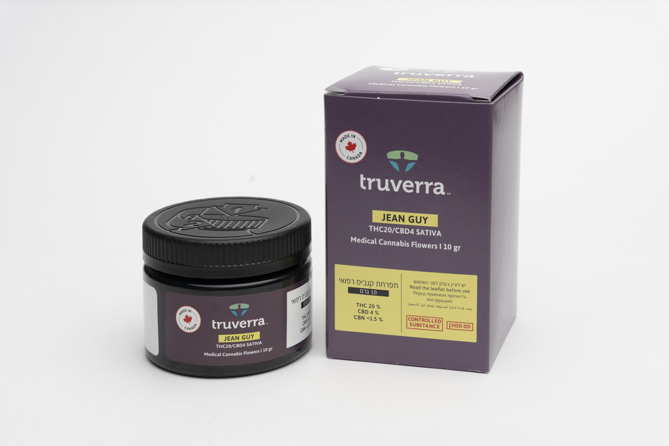 Supreme Cannabis' International Medical Brand, Truverra (CNW Group/The Supreme Cannabis Company, Inc.)