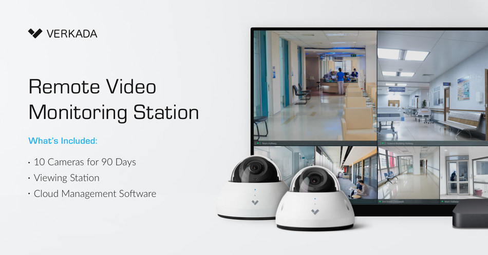 Verkada Remote Video Monitoring Station