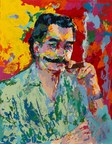 Battle of the Mustache: And the Winner Is... LeRoy Neiman