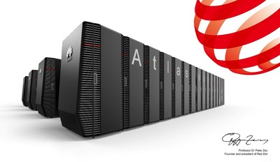 Clúster de IA Atlas 900 de Huawei (PRNewsfoto/Huawei)