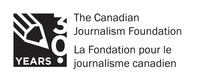 CJF 30-year logo (CNW Group/Canadian Journalism Foundation)