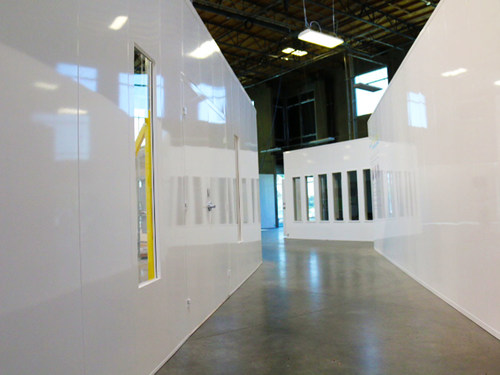 McCain Manufacturing is focusing on manufacturing modular walls for COVID-19 containment rooms.