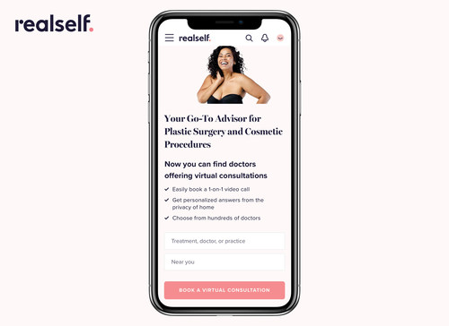 RealSelf Adds Virtual Consultation Feature to Help Consumers Find and Connect With Plastic Surgeons and Other Aesthetic Providers Online