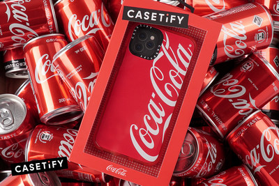 CASETiFY's Latest Tech Accessory Collection is Inspired by Coca-Cola®'s International Identity
