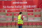Společnost Mindray dokončila první dodávku zdravotnických prostředků do Itálie během 15 dnů