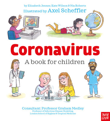 Released Today: Free Information Book Explaining the Coronavirus to Children, Illustrated by Gruffalo Illustrator
