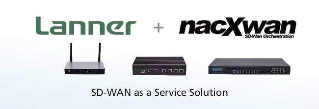 Lanner's whitebox Solutions™ offering, including NCA-1020, NCA-1510 and NCA-4210, is pre-validated as the uCPE Platforms to reach full nacXwan SD-WAN functions