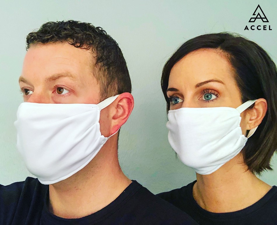 Featuring Accel Lifestyle Prema® Anti-Bacterial Adult Face Masks that are available direct to consumer and to hospitals, medical professionals and first responders.  Example of what Houston Methodist Hospital just ordered.