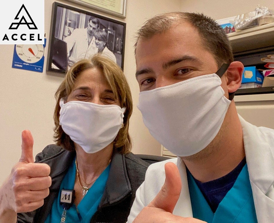 Features medical ICU pharmacists Dr. Michael Sirimaturos and Dr. Rebeca Halfon who have been taking care of COVID-19 patients and work with Katherine Perez infectious diseases pharmacist for Houston Methodist Hospital System and is a member of the RDV COVID-19 Team.