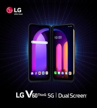 Le nouveau V60ThinQ 5G avec dual screen(MC) de LG sera offert au Canada à compter du 9 Avril (Groupe CNW/LG Electronics Canada)